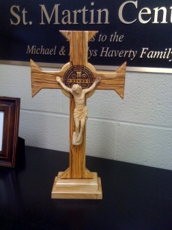 Cross of St. Benedict, Front