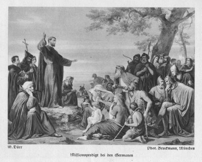 St. Boniface Evangelizes German Peoples