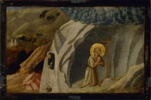 Saint Benedict on Subiaco Workshop of Fra Angelico 1400 ; 1455